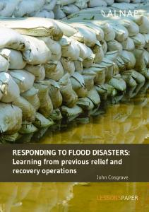 RESPONDING TO FLOOD DISASTERS: Learning from ... - ReliefWeb