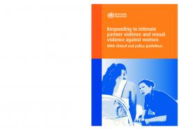 Responding to intimate partner violence and sexual violence ...