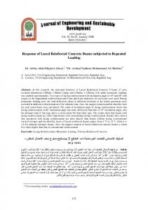Response of Laced Reinforced Concrete Beams