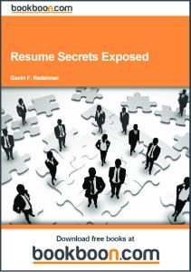 Resume Secrets Exposed