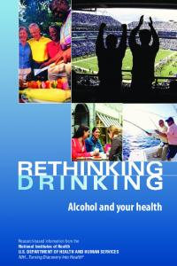 Rethinking Drinking: Alcohol and your health