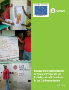 Review and Systematization of Disaster Preparedness ... - ALNAP