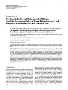 Review Article A Systematic Review and Meta ... - BioMedSearch