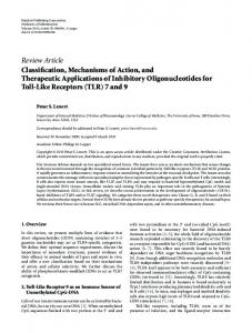 Review Article Classification, Mechanisms of Action ... - ScienceOpen