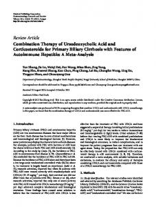 Review Article Combination Therapy of ... - BioMedSearch