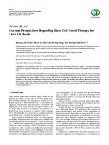 Review Article Current Perspectives Regarding Stem ...