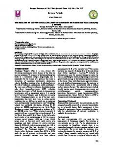 Review Article - International Journal of Research in Ayurveda and ...