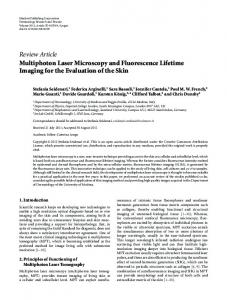 Review Article Multiphoton Laser Microscopy and