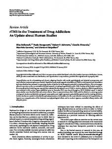 Review Article rTMS in the Treatment of Drug Addiction - BioMedSearch