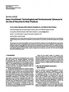 Review Article Some Nutritional, Technological and ...