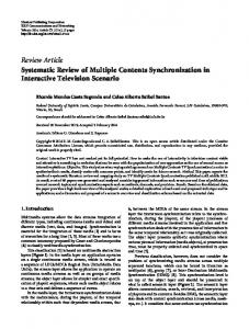 Review Article Systematic Review of Multiple ...