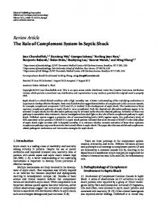 Review Article The Role of Complement System in ... - ScienceOpen