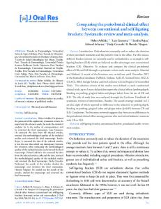 Review Comparing the periodontal clinical effect between ...