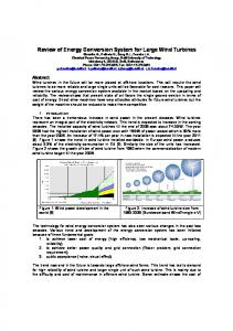 Review of Energy Conversion System for Large Wind ...