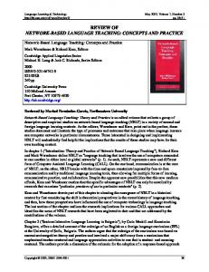 review of network-based language teaching - ScholarSpace
