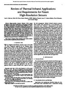 Review of Thermal Infrared Applications and