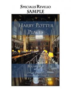 Review PDF cover - Harry Potter Places