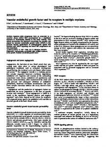 REVIEW Vascular endothelial growth factor and its receptors ... - Nature