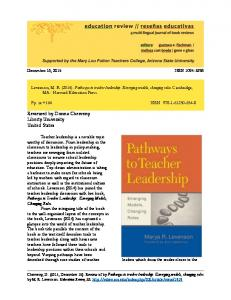 Reviewed by Donna Cherveny Liberty University ... - Education Review