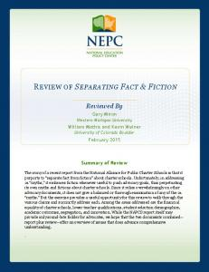 Reviewed By - National Education Policy Center - University of ...
