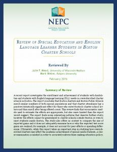 Reviewed By - The Great Lakes Center for Education Research and ...
