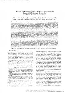 Reviewon Groundwater Nitrate Contamination ...
