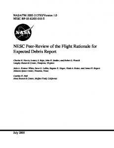 Revision 0, 4/12/05 - NASA Technical Reports Server (NTRS)