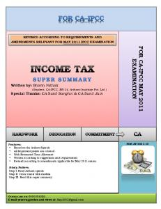 Revision Of Income Tax