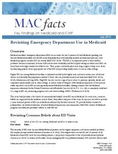 Revisiting Emergency Department Use in Medicaid - macpac