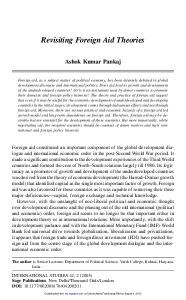 Revisiting Foreign Aid Theories.pdf