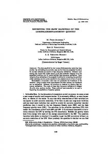 REVISITING THE SLOW MANIFOLD OF THE ... - TIFR CAM ePrints