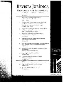 REVISTA JURfDlCA - SSRN papers