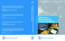 Revolution: From Food Aid to Food Assistance