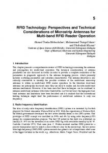 RFID Technology: Perspectives and Technical