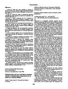 Rhabdomyolysis and acute renal failure associated with the co ...