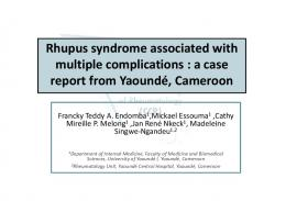 Rhupus syndrome associated with a poor prognosis