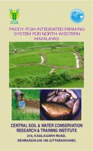 Rice fish leaflet.cdr - India Water Portal