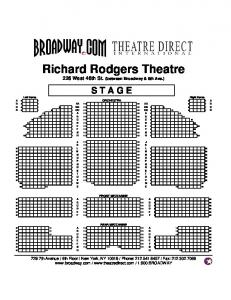 Richard Rodgers IN THE HEIGHTS - Broadway.com