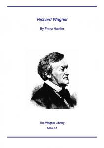 """richard wagner judaism in music and other essays Poor, frustrated, and angered by the """"fashion-mongers and mode-purveyors"""" of art, richard wagner published the art-work of the future in 1849 it marked a turning point in his life: an appraisal of the revolutionary passions of mid-century europe, his farewell to symphonic music, and his vision of the music to come."""