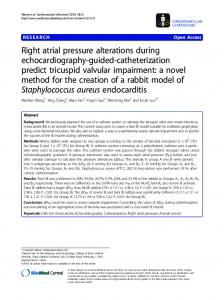 Right atrial pressure alterations during ... - Springer Link