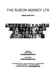 Rights Guide - The Susijn Agency