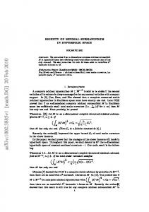 RIGIDITY OF MINIMAL SUBMANIFOLDS IN HYPERBOLIC SPACE