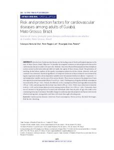 Risk and protection factors for cardiovascular ... - Scielo Public Health