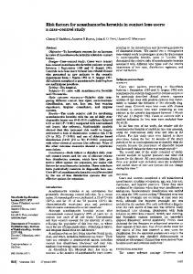 Risk factors for acanthamoeba keratitis in contact lens users: a case ...