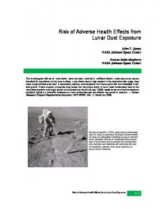 Risk of Adverse Health Effects from Lunar Dust Exposure
