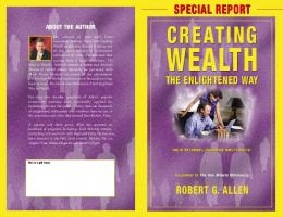 Robert Allen's Special Report - Make Money using The One Minute ...