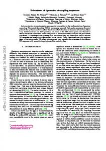 Robustness of dynamical decoupling sequences