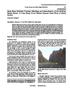 Rock Slope Stability Problem Modeling and ... - Semantic Scholar