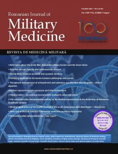 Romanian Journal of Military Medicine