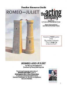Romeo and Juliet 2010-2011 - The Acting Company